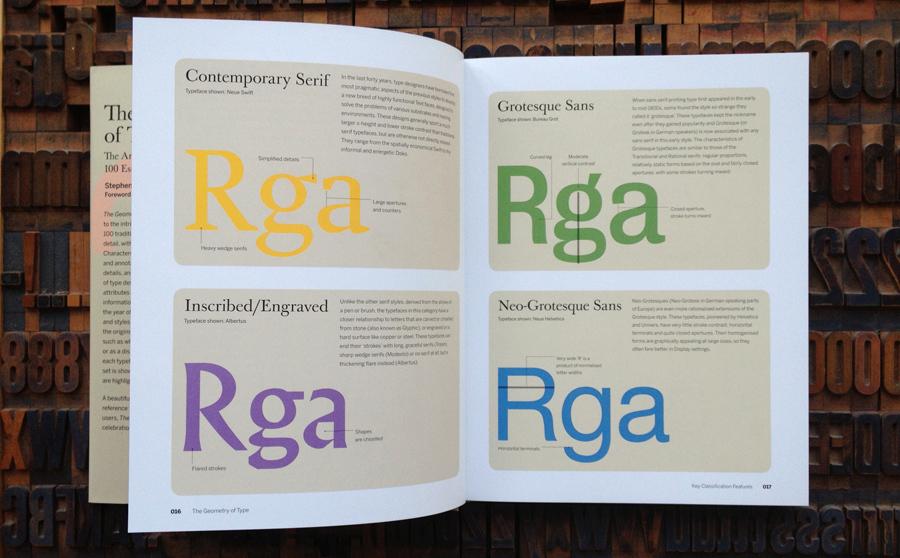 Typefaces Introduced In This Book Adobe Jenson Cala Bembo FF Clifford Scala Lexicon Minion Garamond Premier MVB Verdigris Caslon