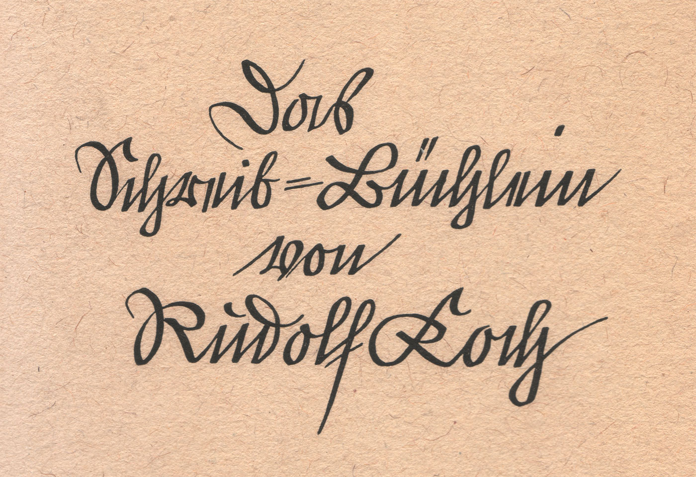 Kurrent—500 years of German handwriting - Journal