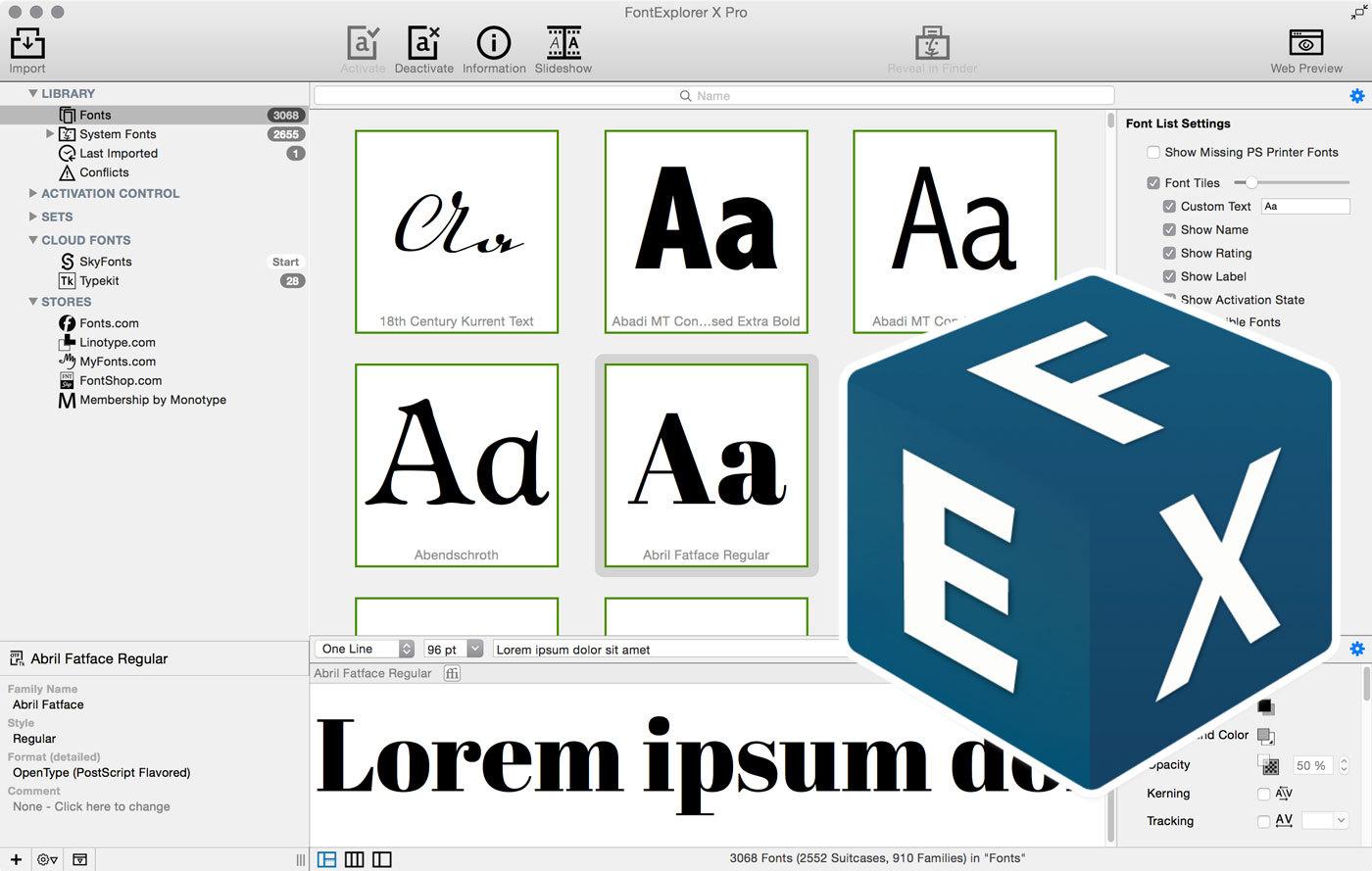Fex Quotes What's New In Fontexplorer X Pro 5  Journal  Typography.guru
