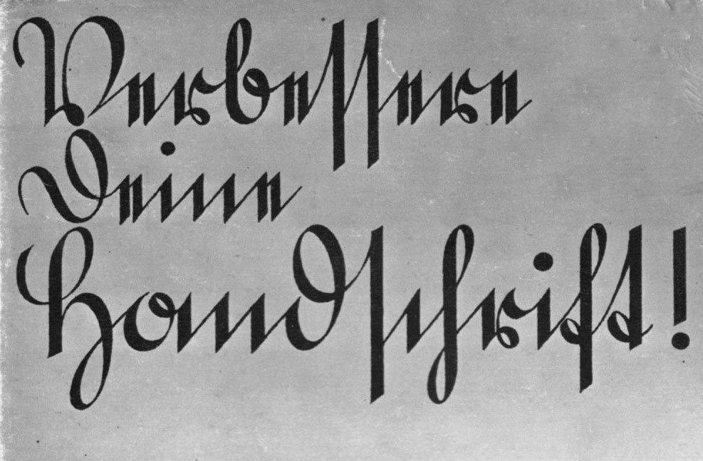 Kurrent500 years of german handwriting journal typographyru altavistaventures Choice Image