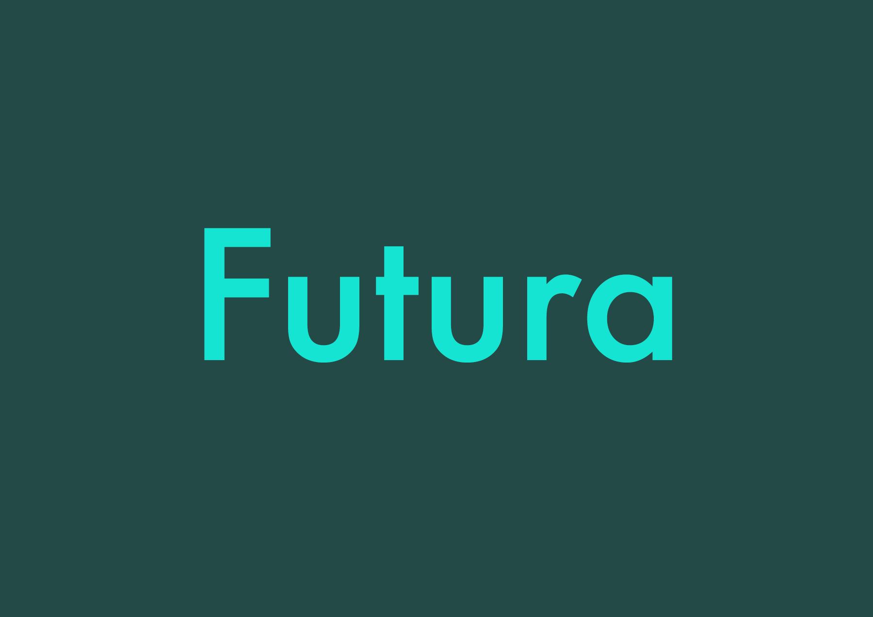 Today's Best Futura Alternatives (2019) 🗄 - Typography/Font