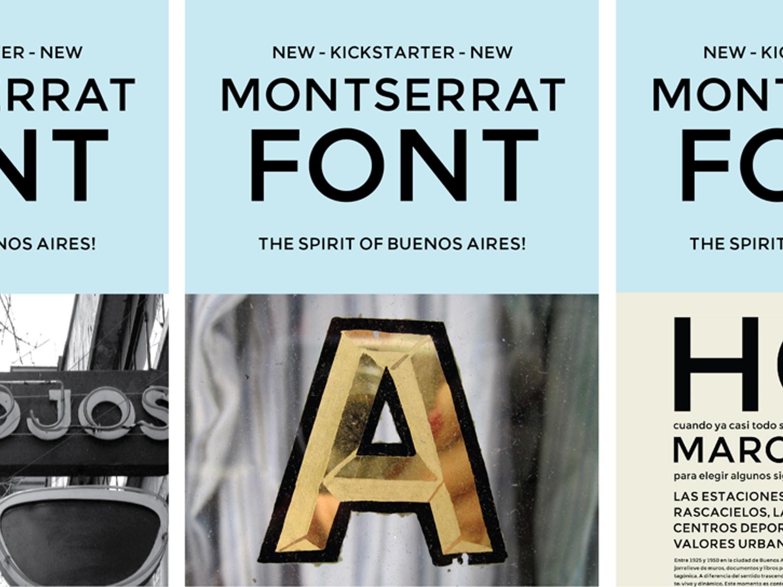 Montserrat: all the styles and weights - Talk - Typography Guru