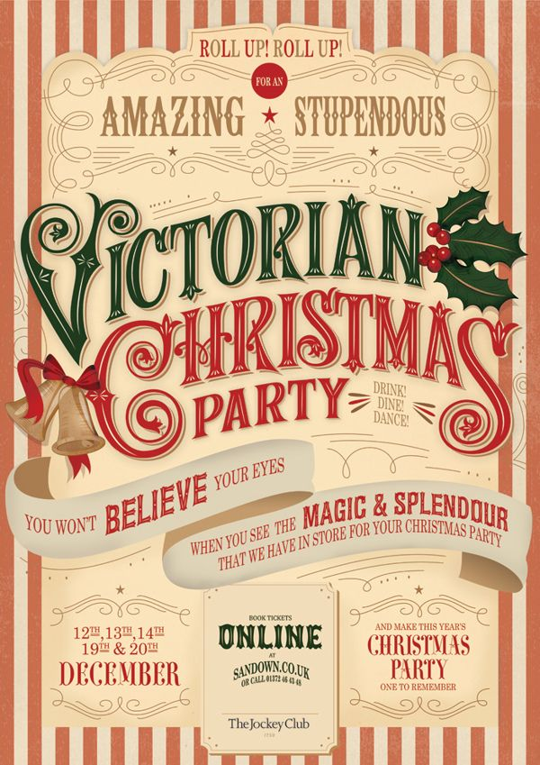 Can anyone tell me what font Victorian Christmas Party is ... - photo #37