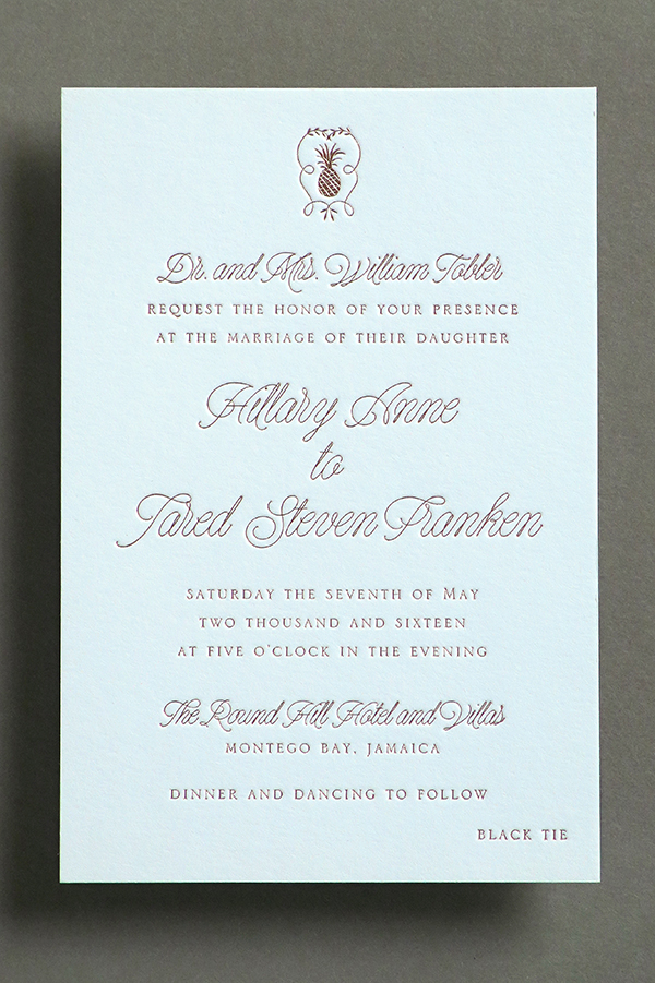 Looking for the two fonts used in this wedding invitation - Font ...