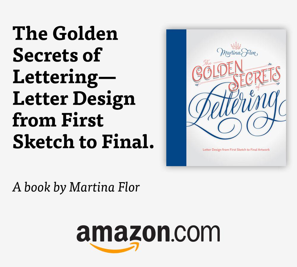 The Golden Secrets of Lettering is a comprehensive, beautifully illustrated guide to hand lettering.