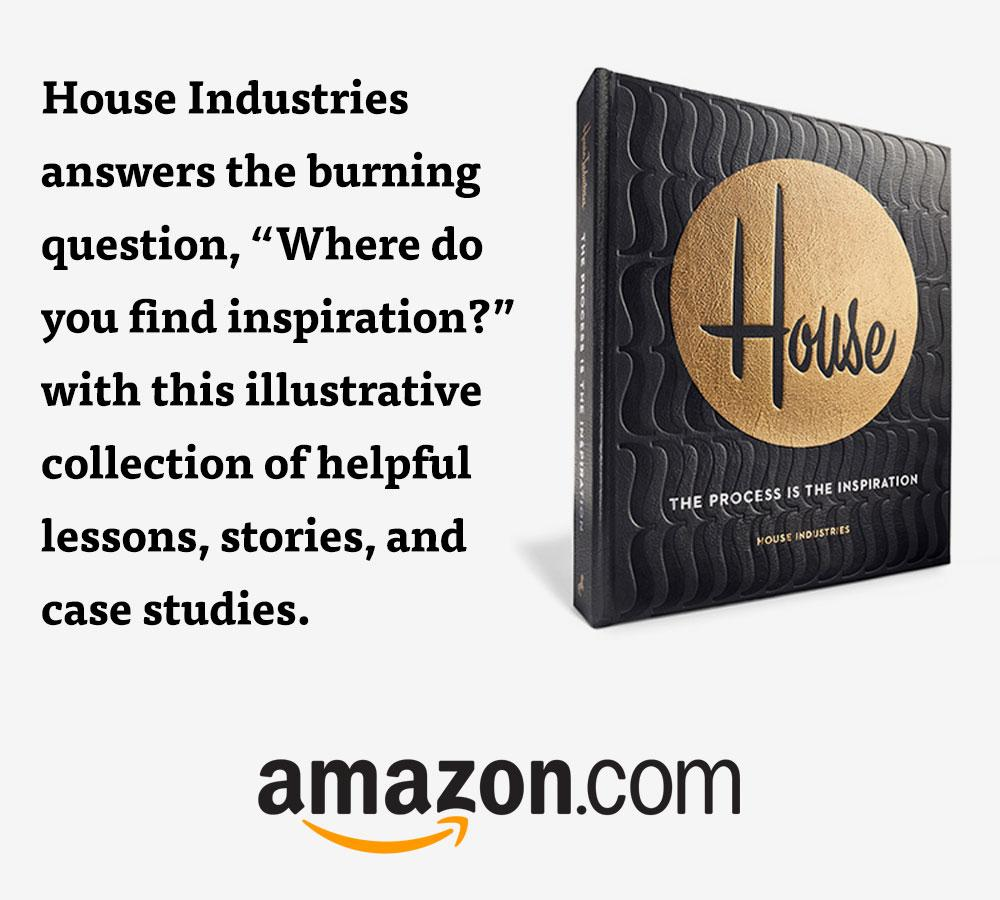 "Open the book ""House Industries: The Process Is the Inspiration"" on Amazon.com"