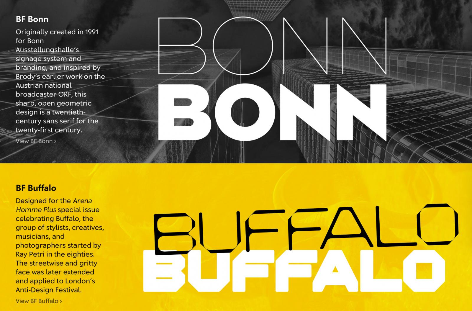 Brody Fonts launched on Type Network - Typography Weekly #79