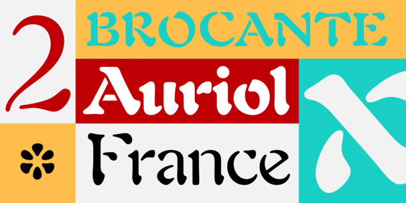 Typical French Fonts (2019) 🇫🇷 - Typography/Font Lists
