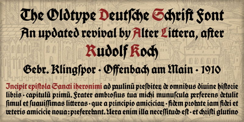 Typical German fonts (2019) 🇩🇪 - Typography/Font Lists