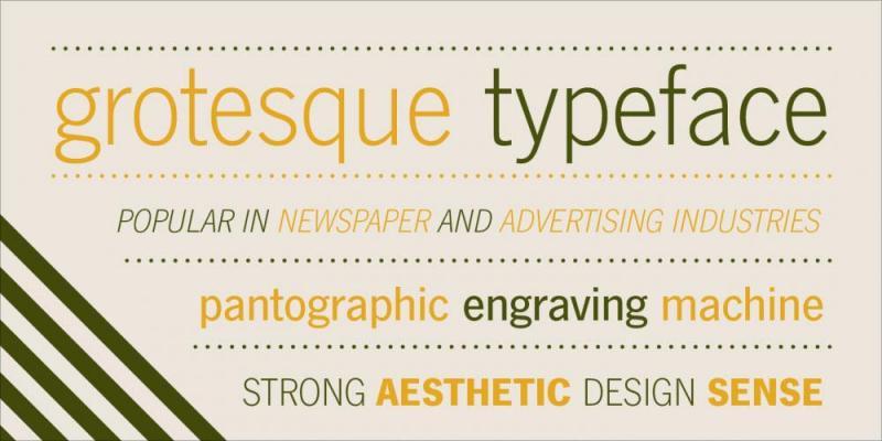 Franklin Gothic's Alternatives (2019) 🗄 - Typography/Font