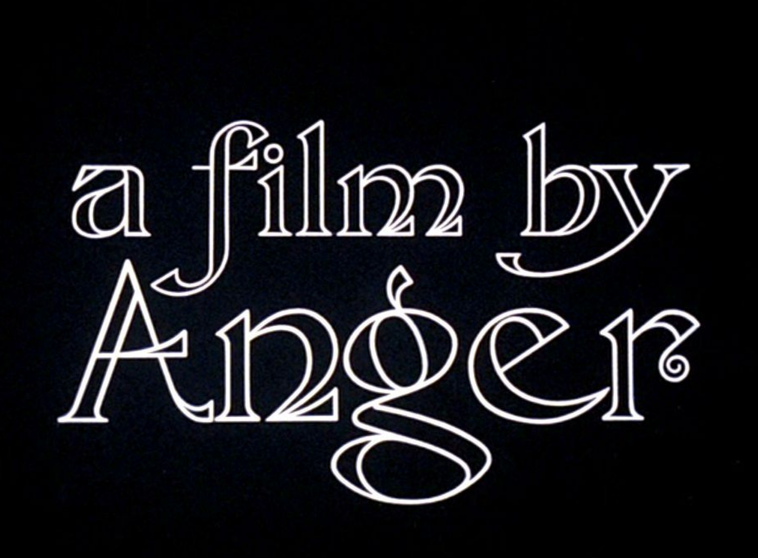 Kenneth Anger's Rabbit's Moon font from 1972 - Font Identification