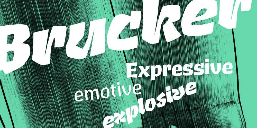 Brucker by Jeremy Tankard Typography