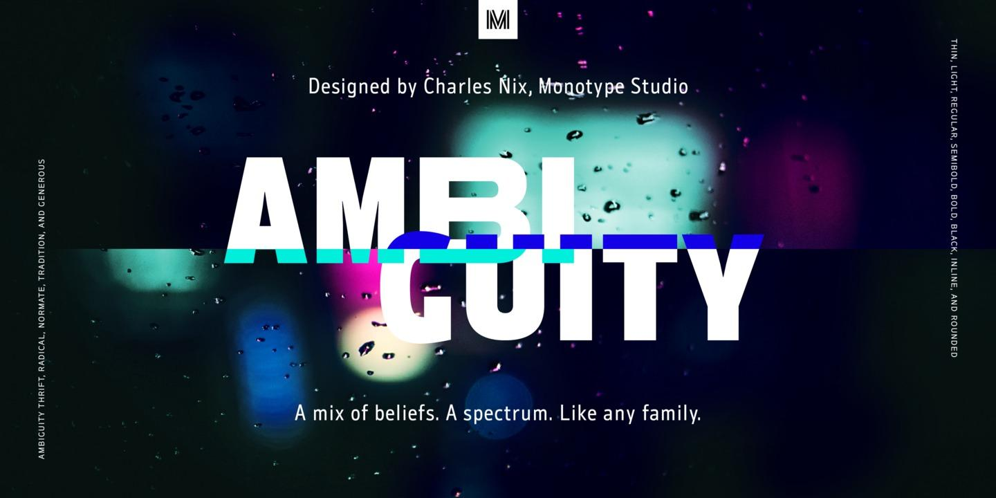 Ambiguity by Monotype