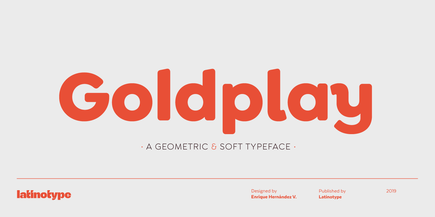 Goldplay by Latinotype