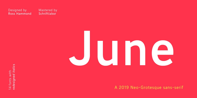 June by Schriftlabor