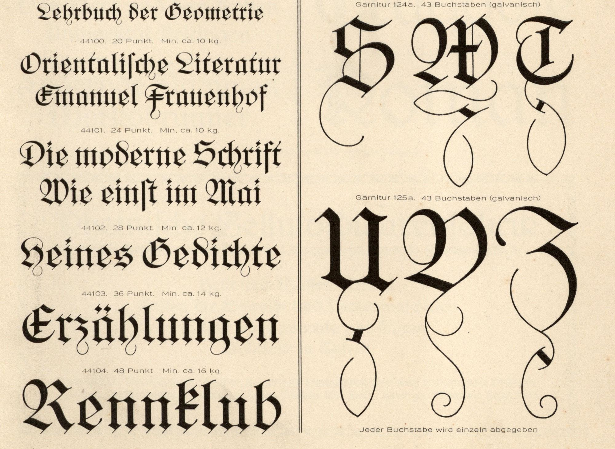 Reviving A Blackletter Font From A Museums Archive