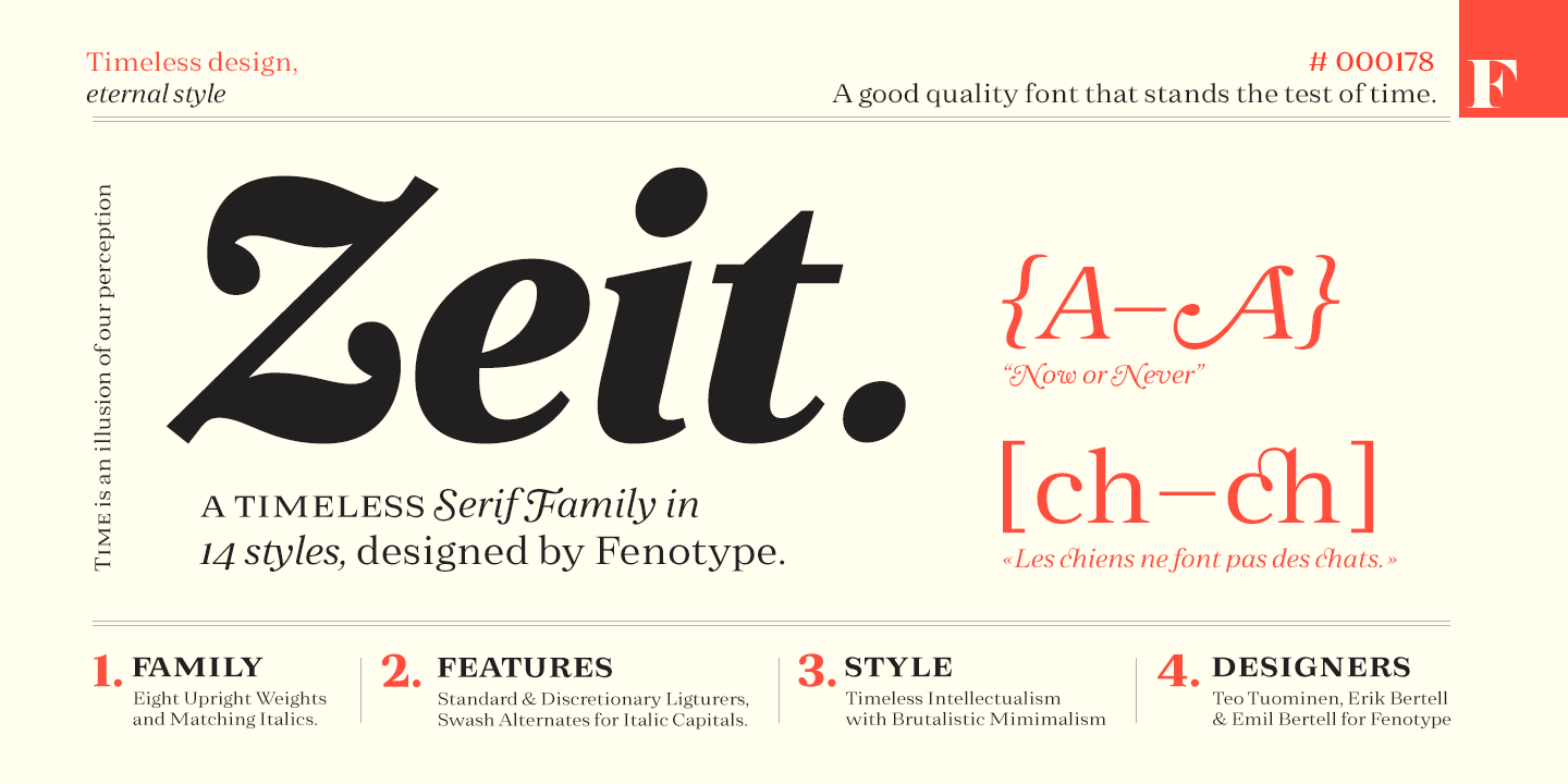 Zeit by Fenotype