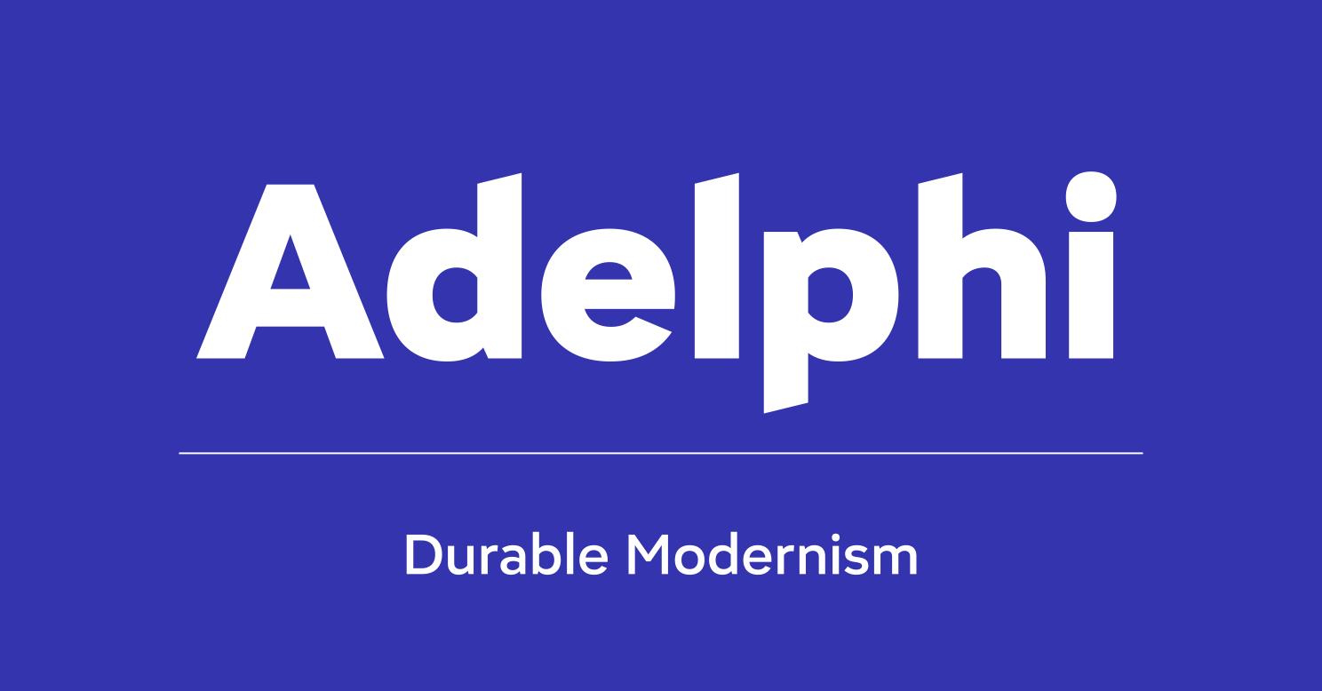 Adelphi by Rosetta Type Foundry