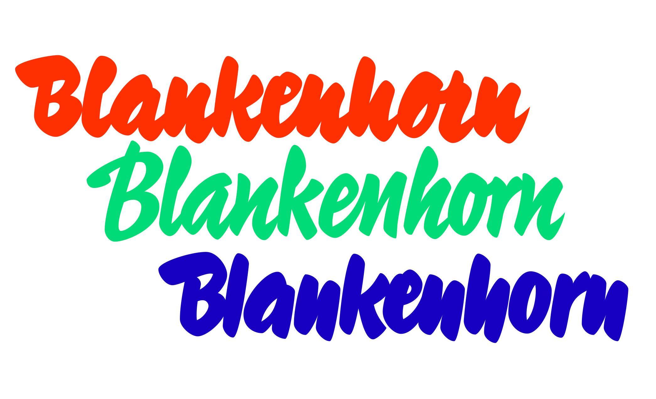 Blankenhorn by Lineto