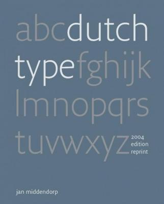 Dutch Type (2018 reprint)