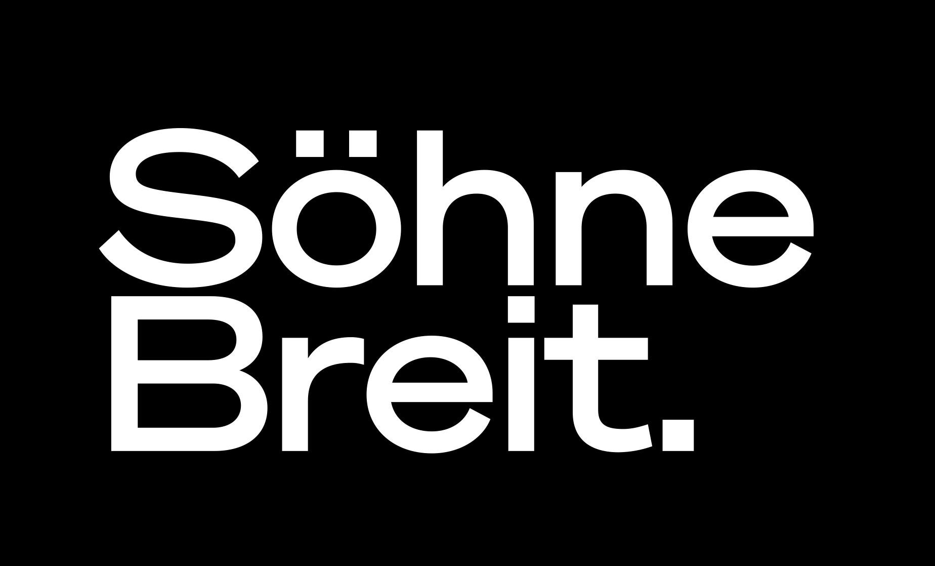 Söhne Collection by Klim Type Foundry