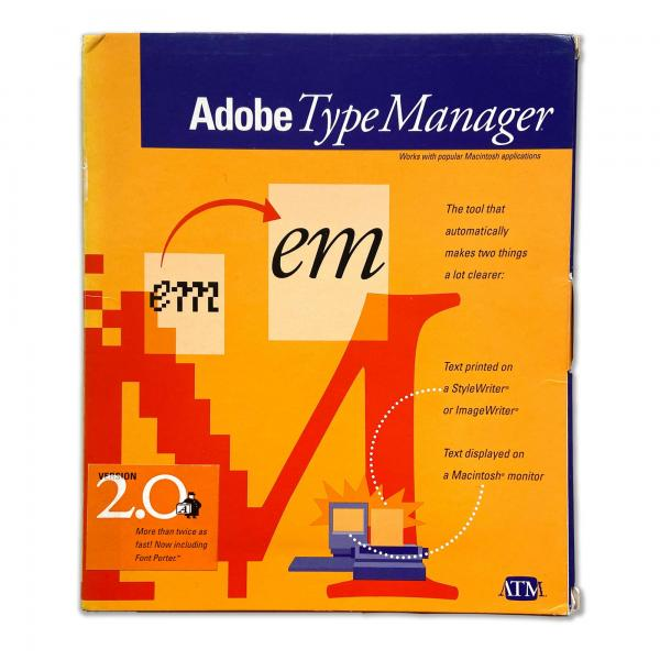 Adobe Type Manager (ATM)