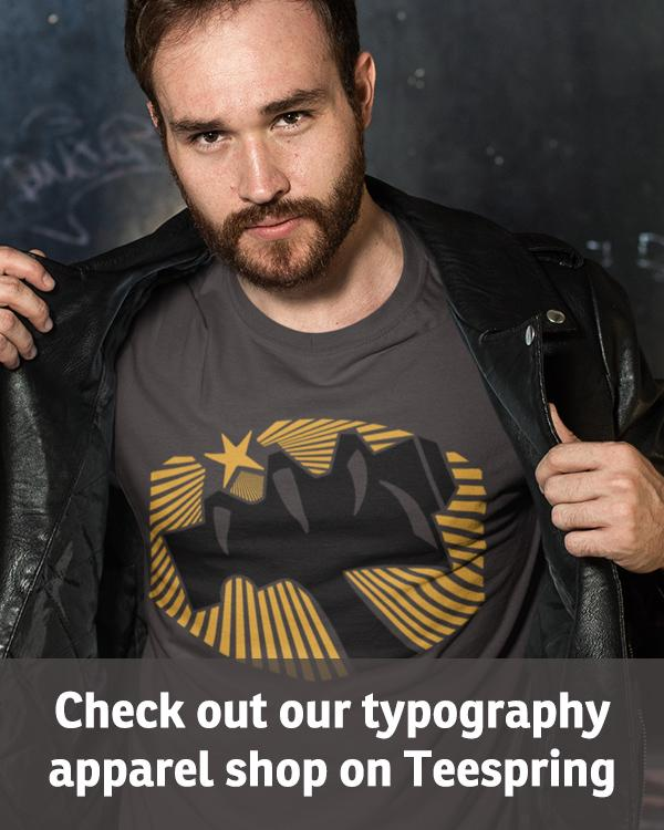 Check out our typography apparel shop on Teespring. Click here …