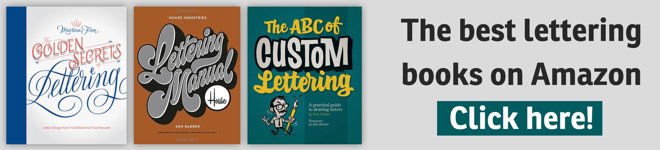 The best lettering books on Amazon …