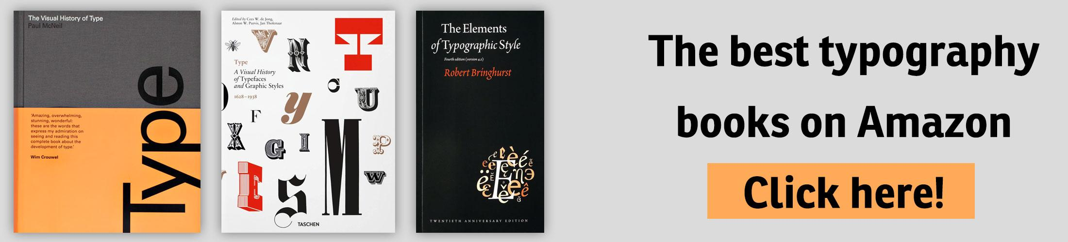 The best typography books on Amazon …