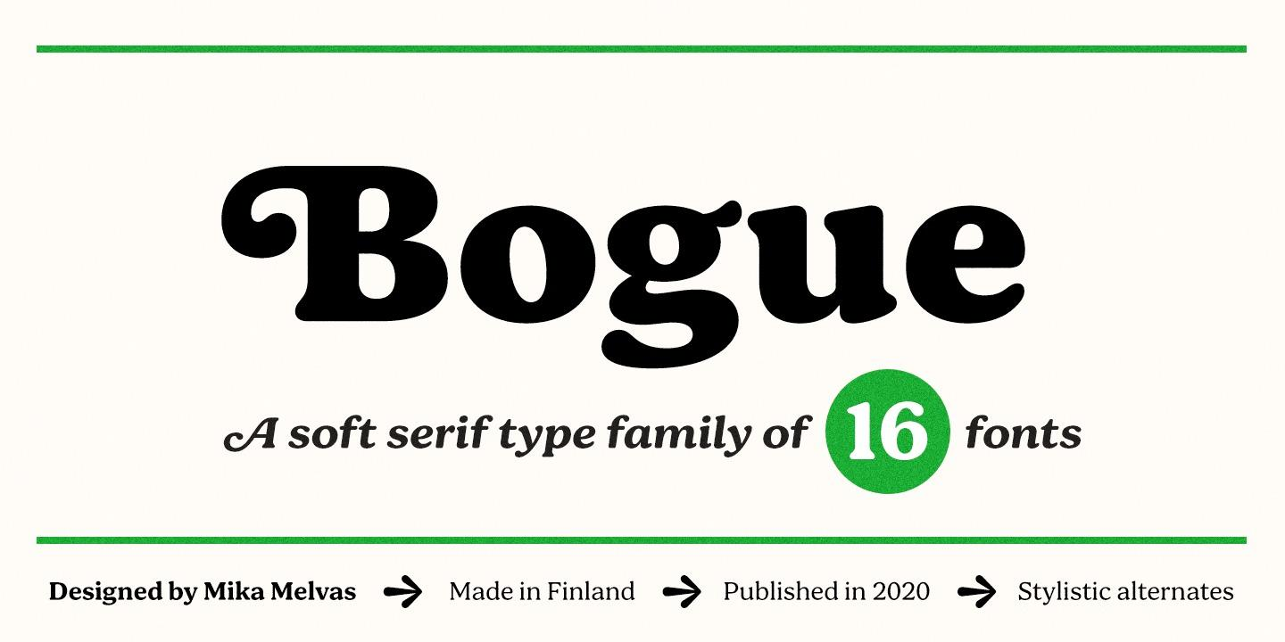 Bogue by Mika Melvas
