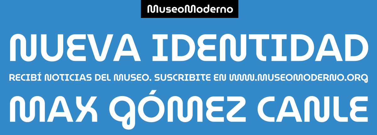 MuseoModerno by Omnibus-Type