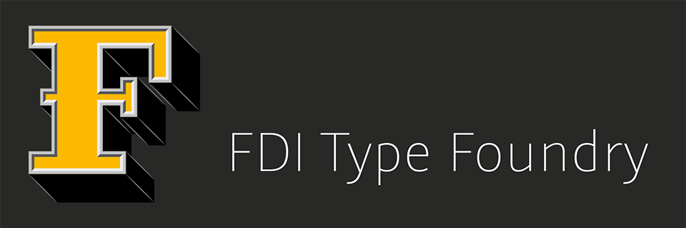 Check out the FDI Type Foundry