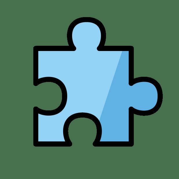 Jigsaw Puzzle Piece Emoji Meanings Typography Guru